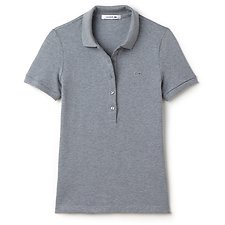 Picture of BASIC WOMENS 5 BUTTON POLO