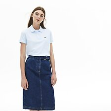 Image of Lacoste RILL WOMEN'S 2 BUTTON RELAXED FIT POLO