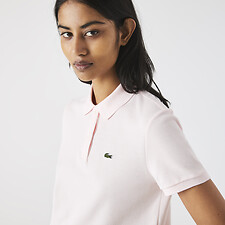 Image of Lacoste FLAMINGO WOMEN'S 2 BUTTON RELAXED FIT POLO