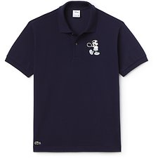 Image of Lacoste NAVY BLUE/NAVY BLUE MEN'S MICKEY MOUSE POLO