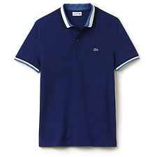 Picture of MEN'S SLIM FIT POLO WITH CONTRAST TRIM