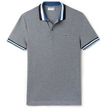 Picture of SLIM FIT POLO WITH CONTRAST TRIM