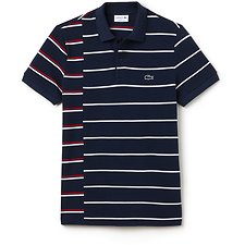 Picture of REGULAR FIT MADE IN FRANCE BROKEN STRIPE POLO