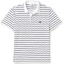 Picture of MEN'S SLIM FIT BROKEN STRIPE POLO