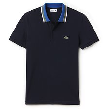 Picture of REGULAR FIT POLO WITH TIPPING