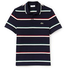 Image of Lacoste MULTI UNISEX FASHION SHOW RETRO STRIPE POLO