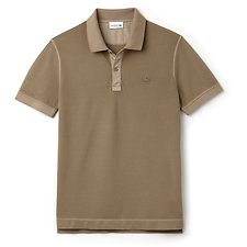 Image of Lacoste KRAFT DYED MEN'S WAFFLE POLO