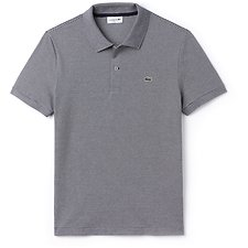 Image of Lacoste NAVY BLUE/FLOUR MEN'S PINSTRIPE POLO