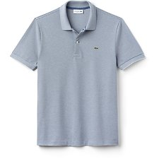 Image of Lacoste KING/FLOUR MEN'S PINSTRIPE POLO