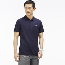 Image of Lacoste NAVY BLUE REGULAR FIT POLO WITH POCKET