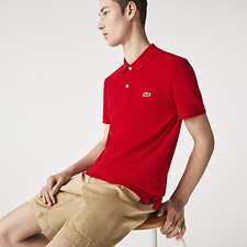 Image of Lacoste RED BASIC SLIM FIT POLO