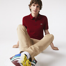 Image of Lacoste BORDEAUX BASIC SLIM FIT POLO
