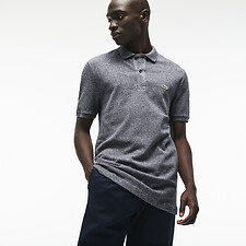 Image of Lacoste ECLIPSE BLUE CHINE MEN'S SLIM FIT CORE POLO
