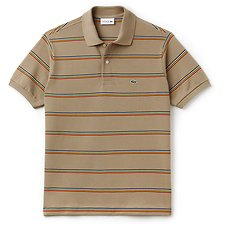 Image of Lacoste  MEN'S DUAL STRIPE POLO