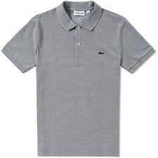 Picture of SLIM FIT BIRDSEYE POLO