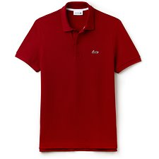 Picture of MEN'S REGULAR FIT LOGO CHEST PRINT POLO
