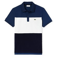 Picture of MEN'S REGULAR FIT COLOUR BLOCK POLO