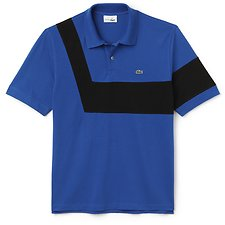Image of Lacoste ELECTRIC/BLACK MEN'S 85TH ANNIVERSARY LIMITED EDITION REISSUE POLO