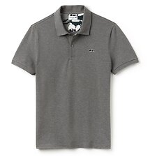 Image of Lacoste STONE MEN'S SLIM STRETCH CAMO CROC POLO