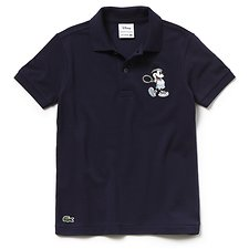 Image of Lacoste NAVY BLUE/NAVY BLUE KIDS' MICKEY MOUSE POLO