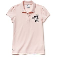 Image of Lacoste FLAMINGO KIDS' GIRLS MINNIE MOUSE POLO