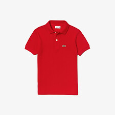 Image of Lacoste RED KIDS BASIC POLO