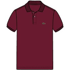 Image of Lacoste BORDEAUX KIDS' BASIC POLO