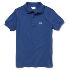 Image of Lacoste ELYSEE BLUE KIDS' BASIC KIDS POLO