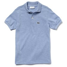 Image of Lacoste CLOUDY BLUE CHINE KIDS' BASIC POLO