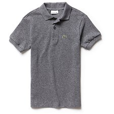 Image of Lacoste ECLIPSE BLUE CHINE KIDS' PETITE PIQUE BASIC POLO