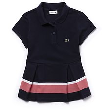 Picture of KIDS' COLOUR BLOCK PLEATED POLO