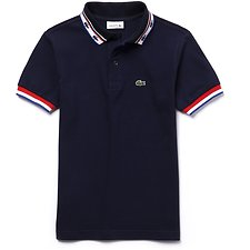 Picture of KIDS' TONAL CROC POLO WITH TIPPING