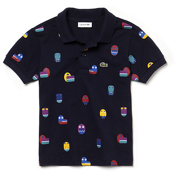 Image of Lacoste  KIDS' PRINTED POLO