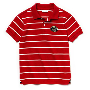 Image of Lacoste  KIDS' STRIPE POLO