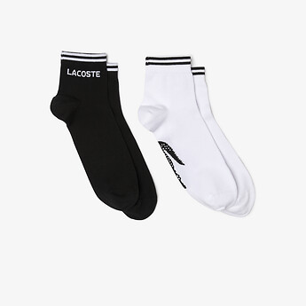 Image of Lacoste  TWIN PACK ANKLE SOCKS
