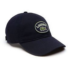 Image of Lacoste NAVY BLUE MEN'S BADGE LOGO CAP