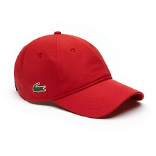 Image of Lacoste LIGHTHOUSE RED MEN'S BASIC DRY FIT CAP