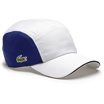 Image of Lacoste  MEN'S UNISEX DRY FIT 5 PANEL CAP