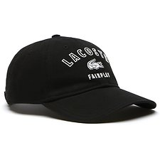 Image of Lacoste 031 BLACK FAIRPLAY LACOSTE CAP