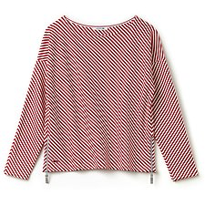 Picture of NAUTICAL STRIPE SWEAT WITH ZIP DETAIL