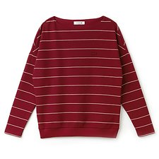 Picture of WOMEN'S BOATNECK STRIPE SWEAT