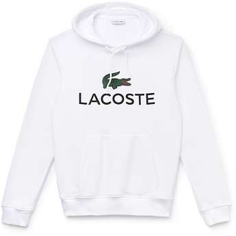Image of Lacoste  MEN'S HOODED LOGO PULL OVER
