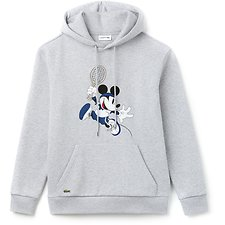 Image of Lacoste SILVER CHINE MEN'S MICKEY MOUSE PULLOVER