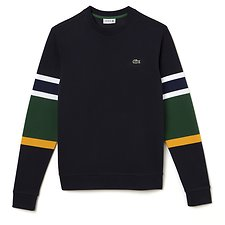 Picture of COLOUR BLOCK CREW NECK SWEAT