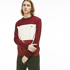 Image of Lacoste IBERIS/GEODE-PINOT MEN'S COLOUR BLOCK SWEATER