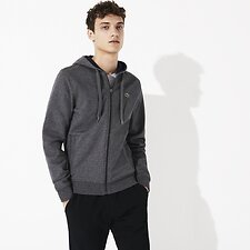 Image of Lacoste PITCH/NAVY BLUE MEN'S BASIC SPORT HOODIE