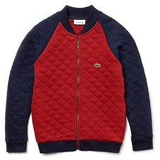 Image of Lacoste PASSION/NAVY BLUE KIDS' VARISTY JACKET