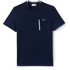 Picture of MADE IN FRANCE ZIP POCKET TEE