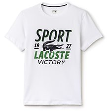 Picture of LACOSTE SPORT STACKED LOGO TEE