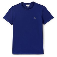 Image of Lacoste OCEAN MEN'S BASIC CREW NECK PIMA TSHIRT